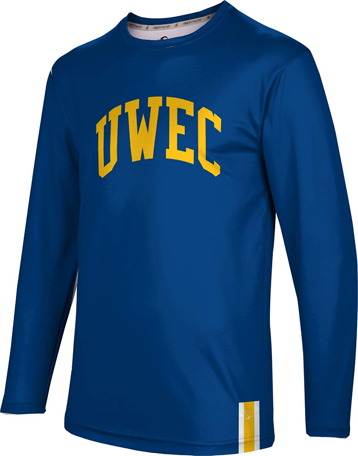 Solid ProSphere University of Wisconsin-Eau Claire Mens Long Sleeve Tee