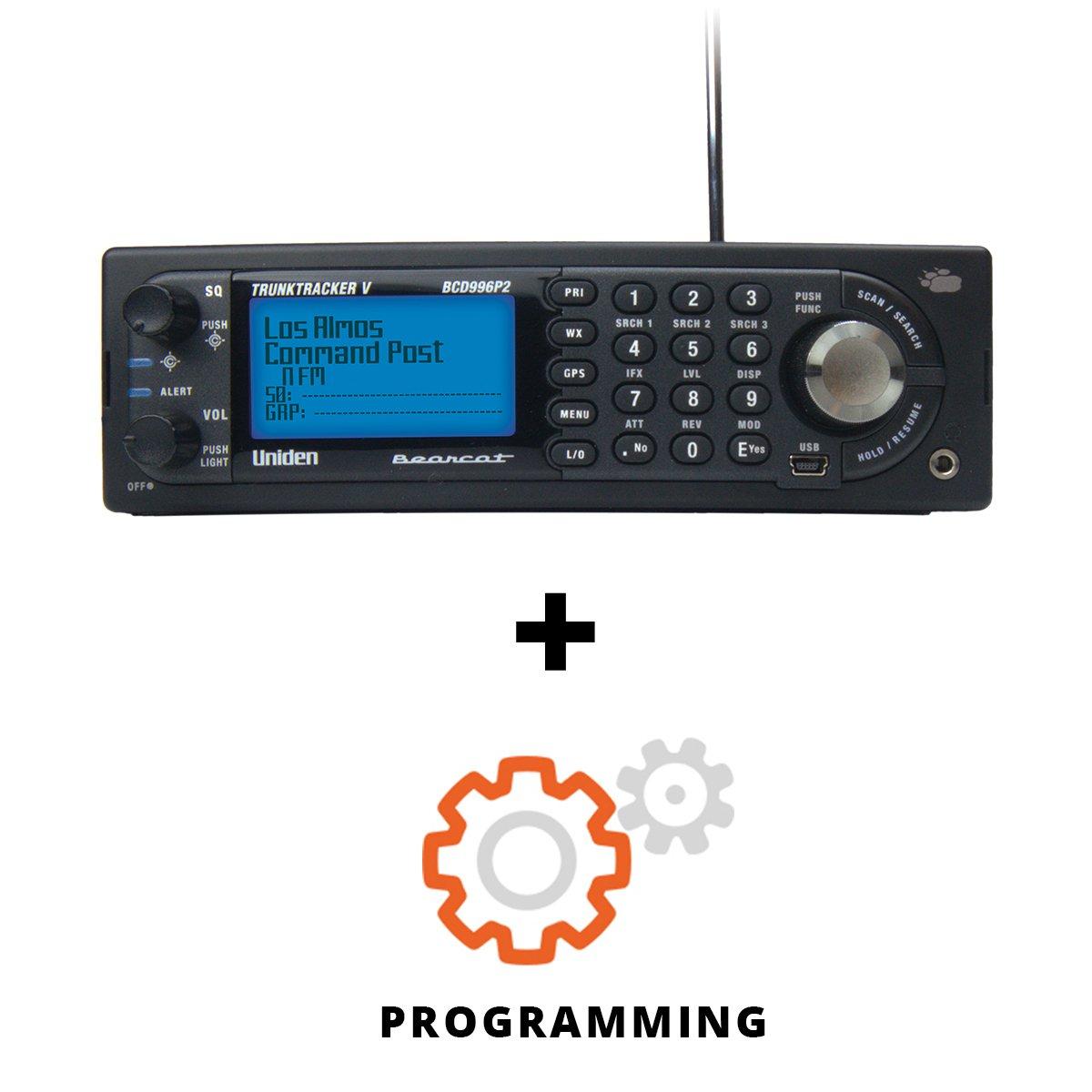 Uniden BCD996P2 Base/Mobile PROGRAMMED Phase II Digital Scanner