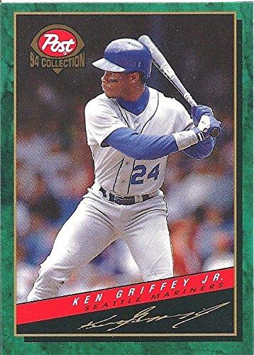 KEN GRIFFEY JR. COLLECTIBLE BASEBALL CARD - 1994 MLBPA MSA BASEBALL - POST CEREAL COLLECTION BASEBALL CARD #15 OF 30 (SEATTLE MARINERS) FREE SHIPPING & TRACKING