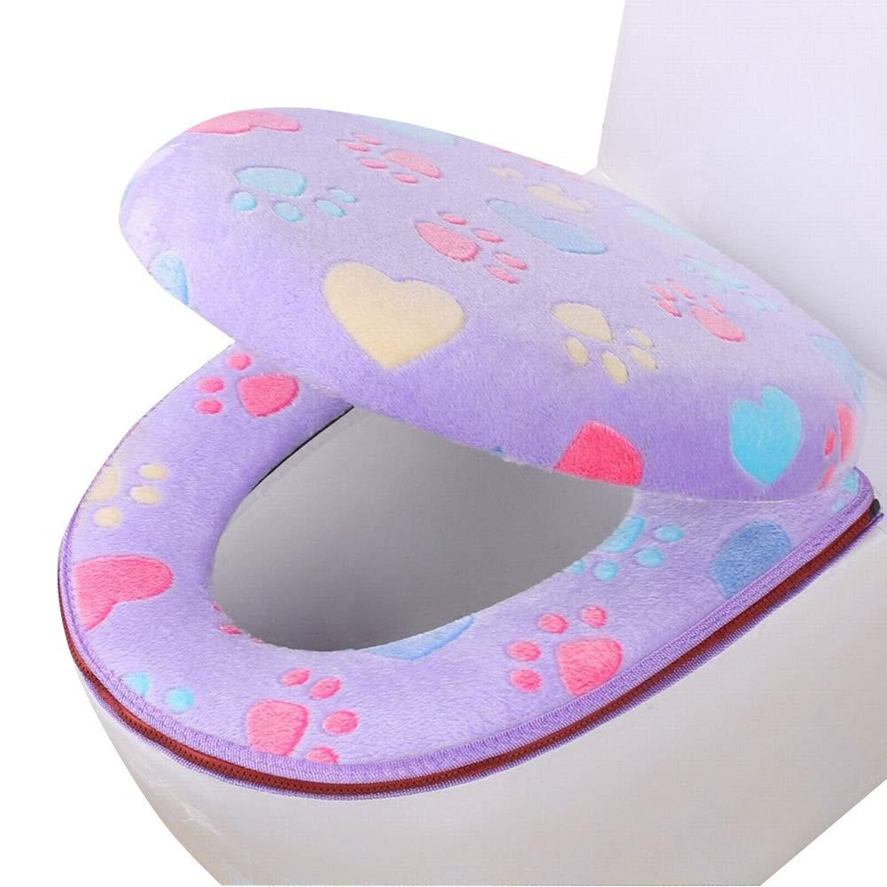 Blu Copriwater universale per WC M-PENG lavabile in pile