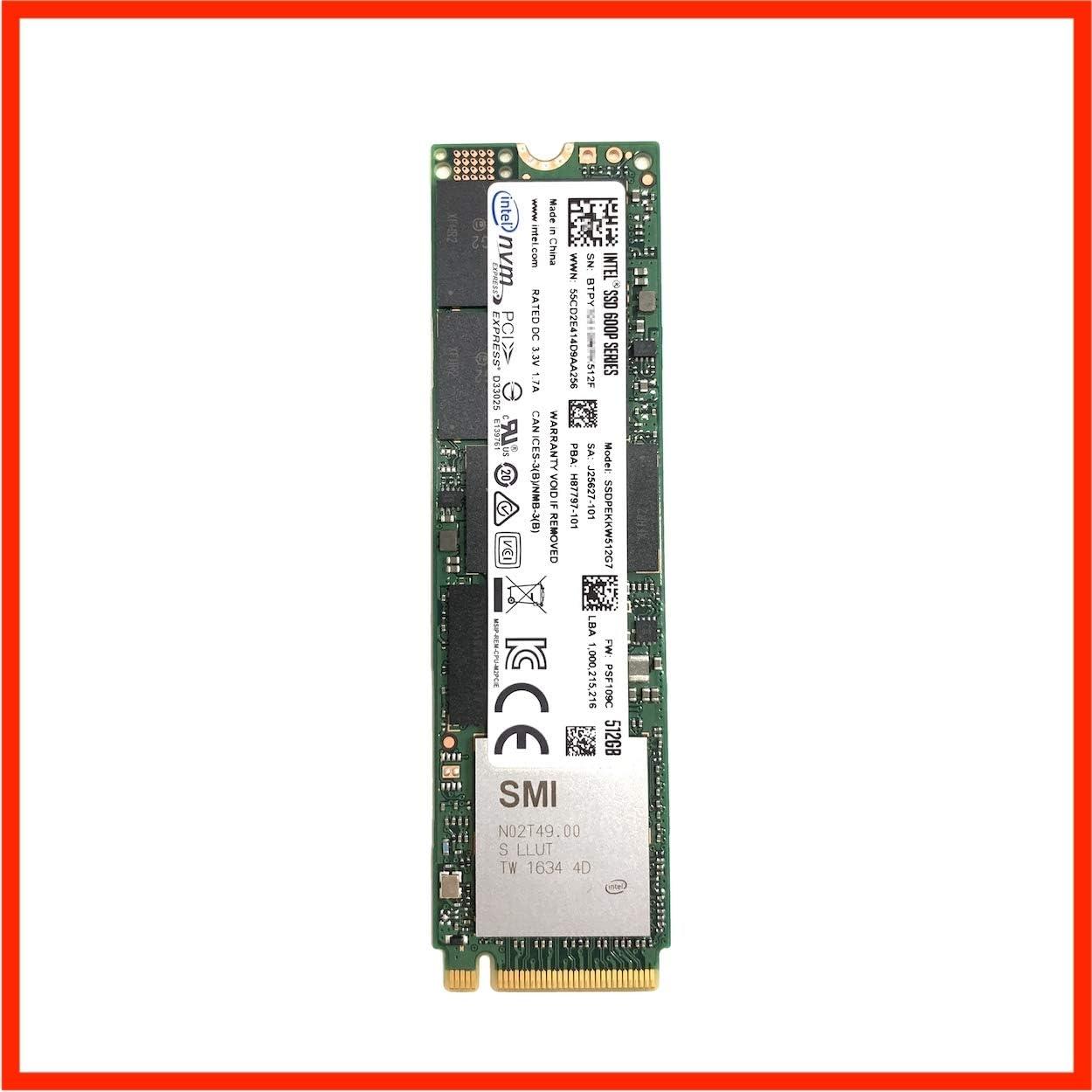 Intel (Nuevo) New 600P Series 512GB 500GB SSD NVMe PCIe 3.0 x 4 M ...