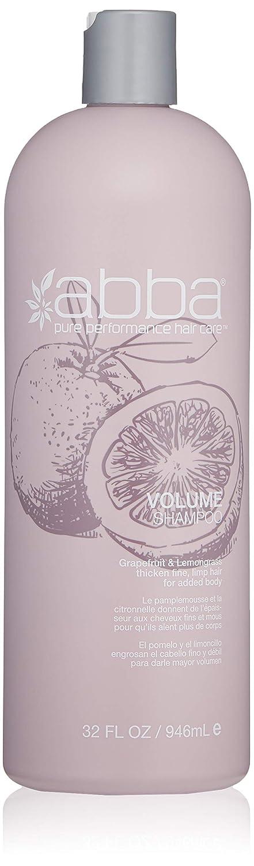 ABBA Volume Shampoo, Grapefruit, 8 Fl Oz
