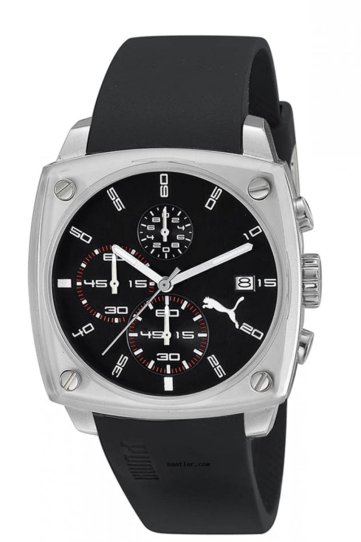 Puma Time Herren-Armbanduhr Shade - L Chronograph Quarz Kautschuk PU102591002
