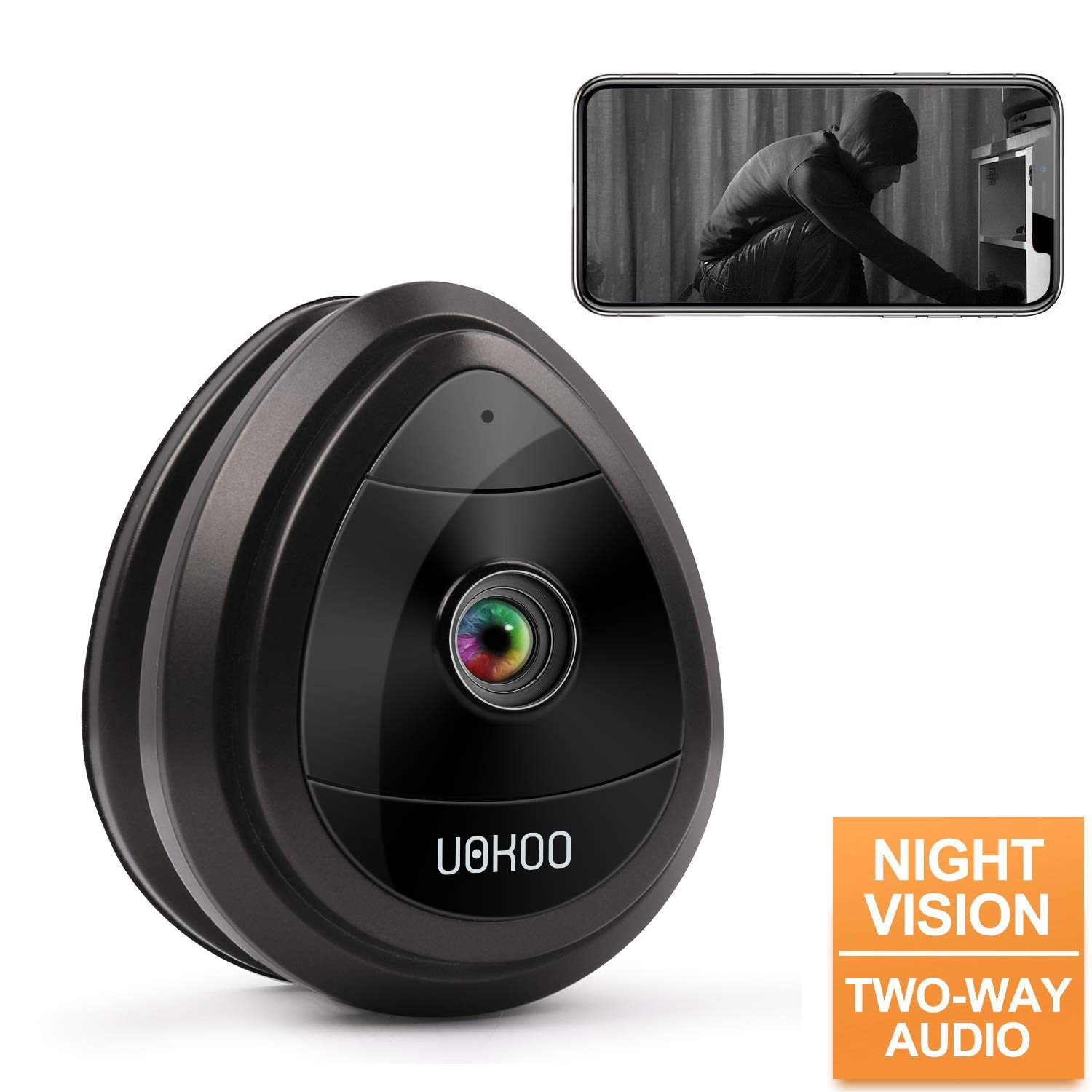 Wireless IP Home Surveillance Security Camera System with Night Vision Activity Detection Alert Baby Monitor, Remote Monitor with iOS, Android App