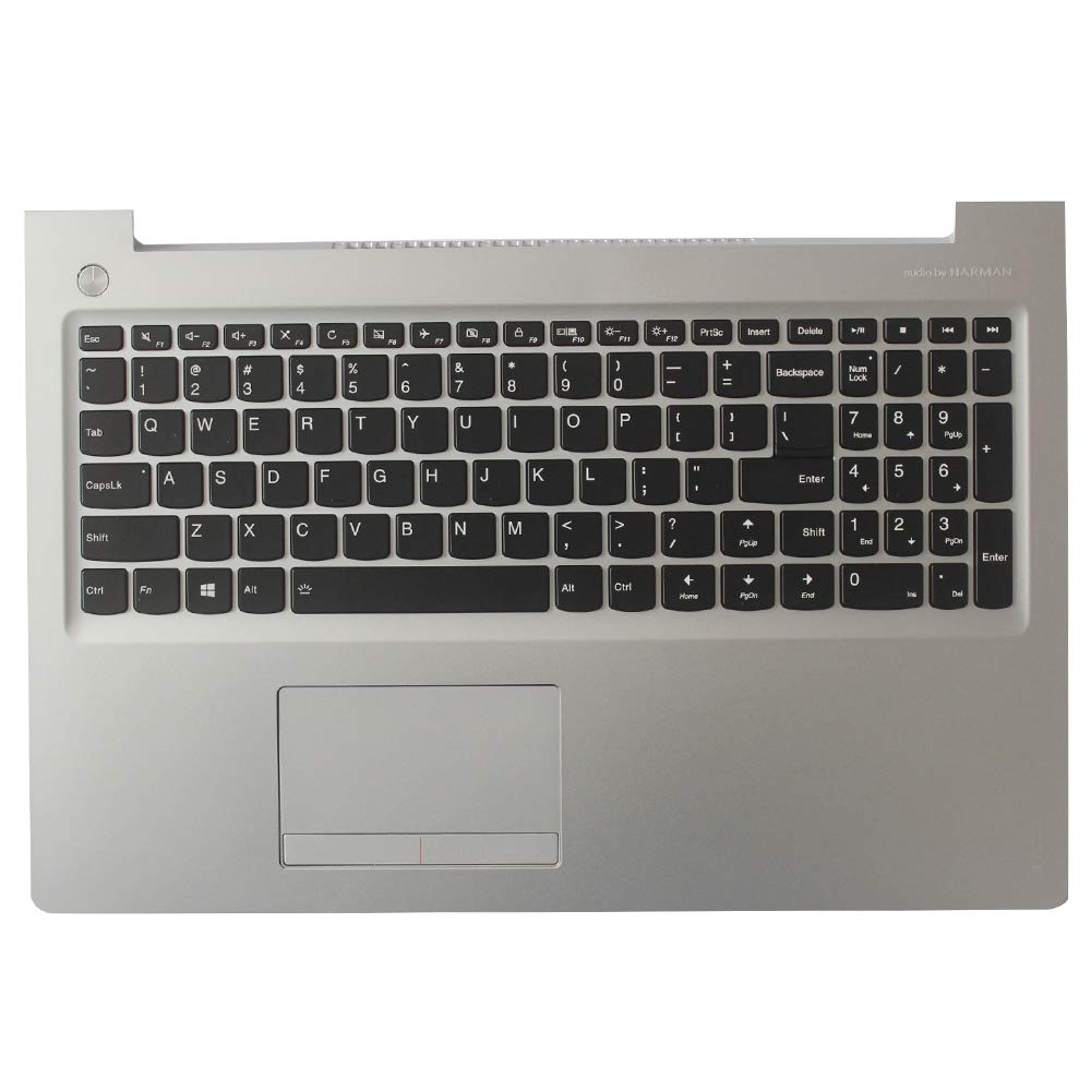 Laptop Replacement Keyboard Fit Lenovo IdeaPad 510-15ISK 5CB0L37526 SN20M52974 SG-84152-XUA US Layout with C Shell