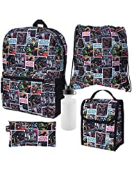 Star Wars 5-Piece Backpack Set