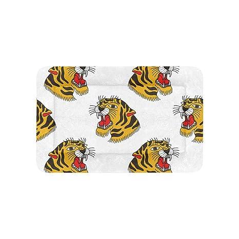 Tiger Leopard Pattern Fashion Accessary Ropa Cama Extra ...