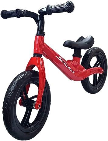 Skillmax Bicicleta de equilibrio para niños y niñas de 2 a 4 años | 12 pulgadas 4.5 libras ligero ajustable bicicleta infantil: Amazon.es: Deportes y aire libre