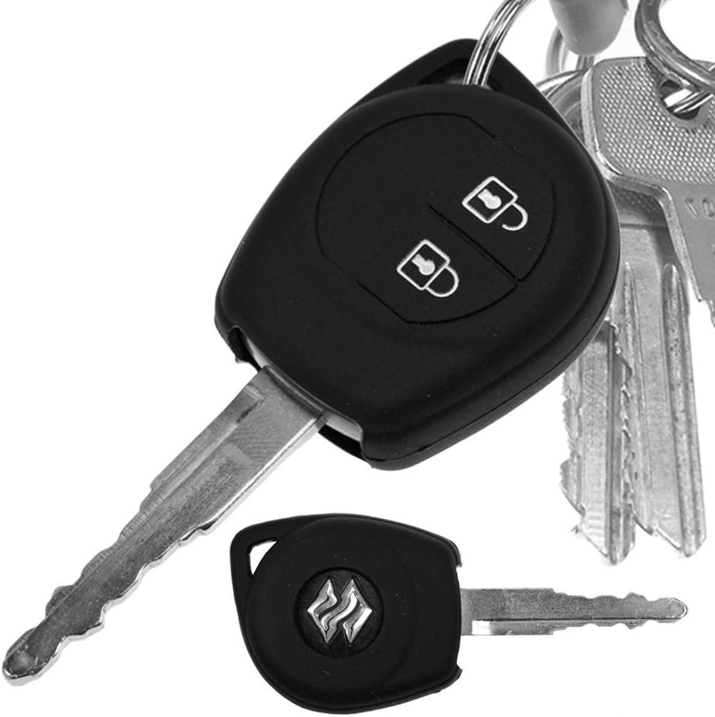Auto Schlüssel Hülle Silikon Schutz Cover Schwarz Elektronik