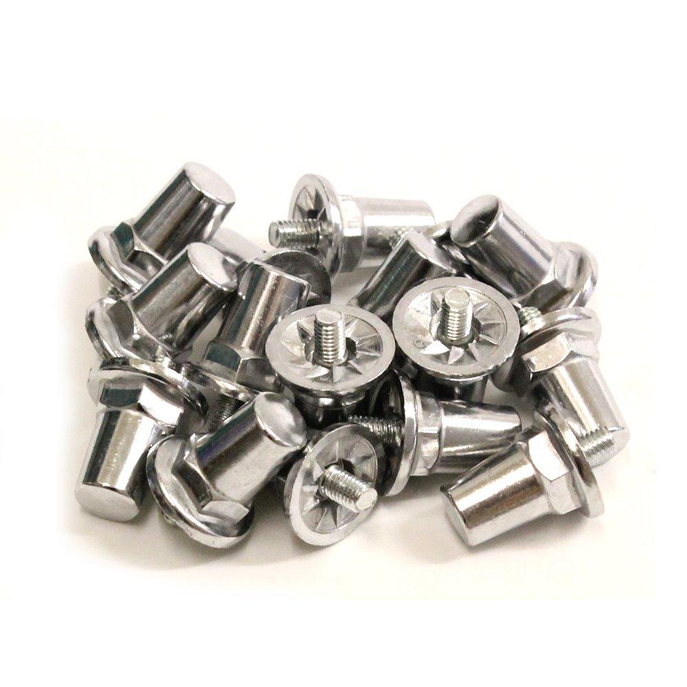 16 x Rugby League Aluminium Screw In Studs 21mm Cartasport
