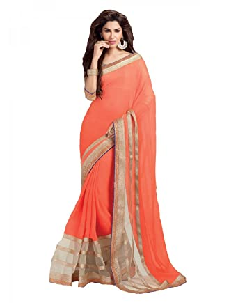 785ca34bcc South Indian Sarees Women's Cotton Saree (SIS-18): Amazon.in: Clothing &  Accessories