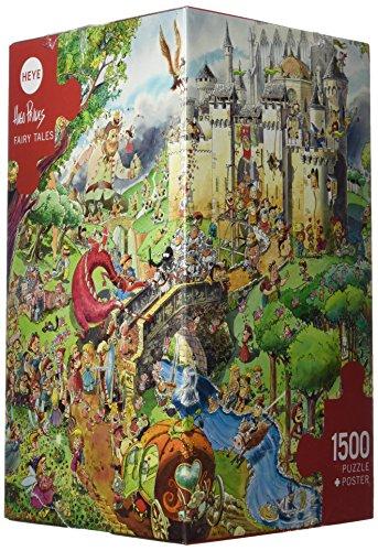 Heye Fairy Tales 1500 Piece Hugo Prades Jigsaw Puzzle