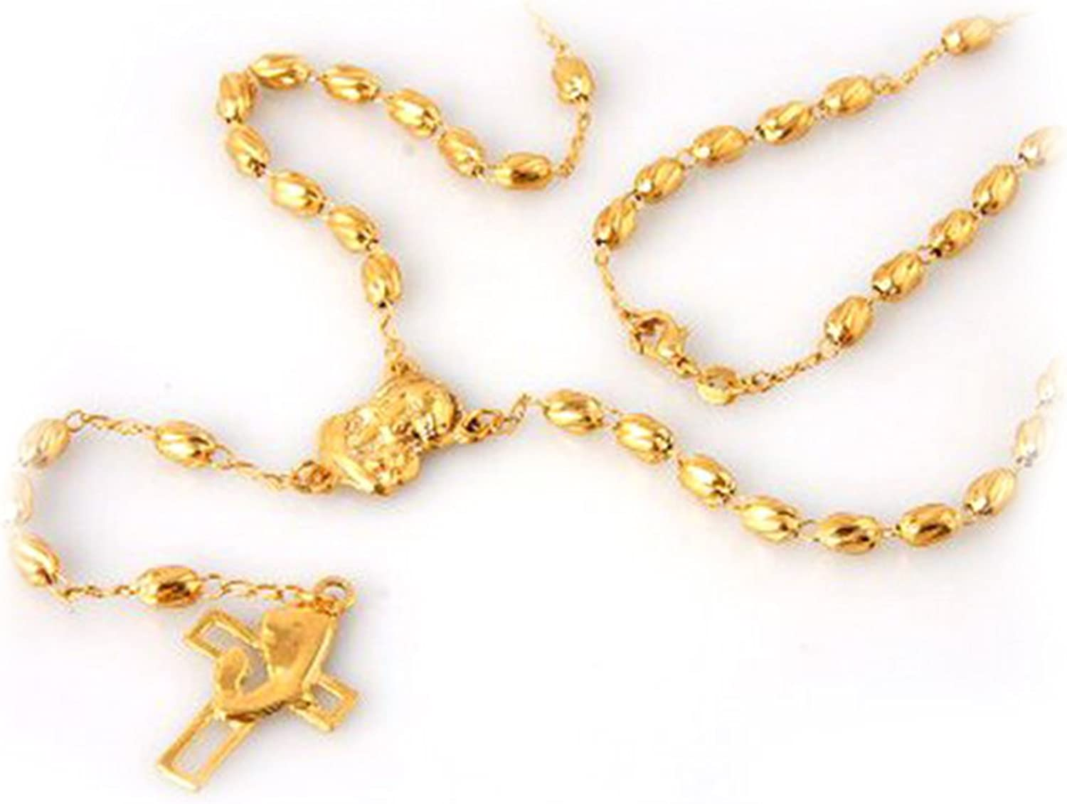 JewelryVolt Gold Plated Rosary