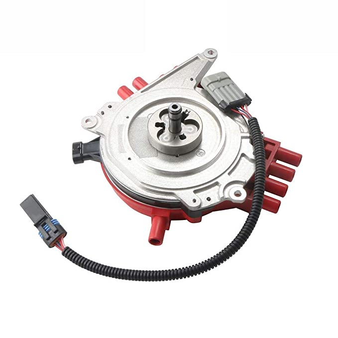 MOSTPLUS New Ignition Distributor & Harness for Optispark LT1 Chevy Camaro  Caprice Corvette Replaces 1104032