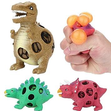 RQWY Squeeze Juguete Antiestrés Animales Modelo de Dinosaurio UVA ...