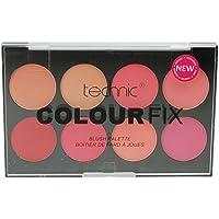 Technic Colour Fix Blush Palette, 3.5 g, Pack of 8