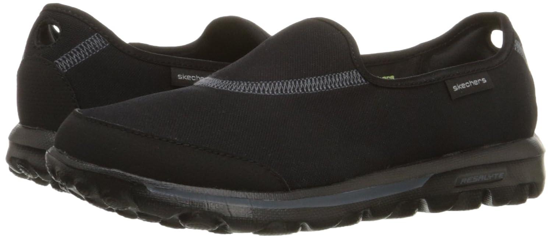 Skechers Performance Women's Go Walk Impress Memory Foam Slip-On Walking Shoe B00I67SME0 6.5 B(M) US|Black