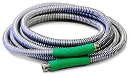 Exceptionnel Armadillo Hose GH15 1/2 Inch By 15 Foot Galvanized Steel Garden Hose