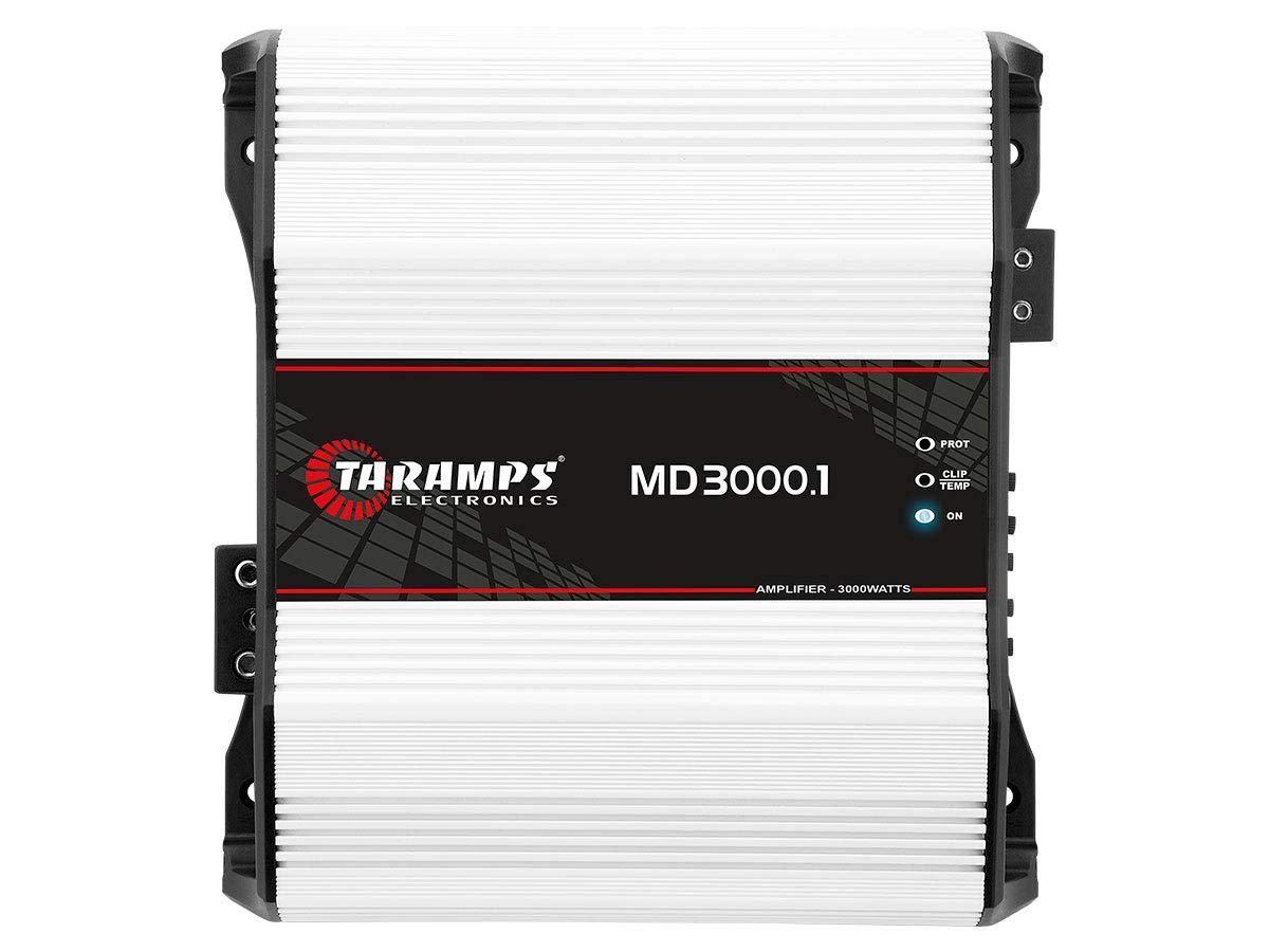 Taramps MD 3000.1 2 Ohms 3000 Watts Class D Full Range Mono Amplifier