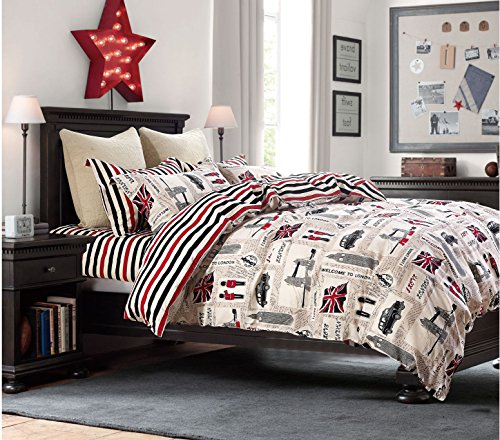 compare price to union jack bedding twin. Black Bedroom Furniture Sets. Home Design Ideas