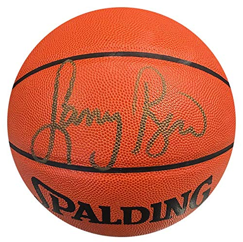 Larry Bird Autographed Official NBA Leather Basketball (UDA) ()