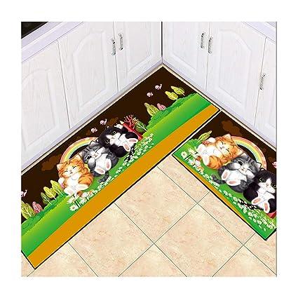 ZGP Interior Carpet Estera del Piso de la Cocina del hogar ...