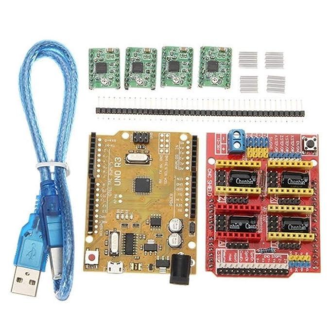 NO BRAND Accesorios componentes For Arduino Impresora 3D, Escudo ...