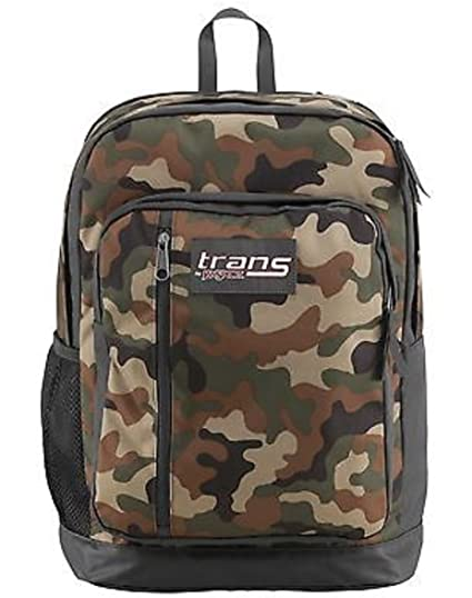 e9be5e2ec0e4 Jansport Trans Megahertz II Camo HTF Backpack Laptop Book Boys Girls School  Bag