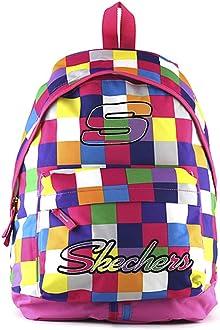 Skechers Zaino Scolastico Cartable, 44 cm, Multicolore