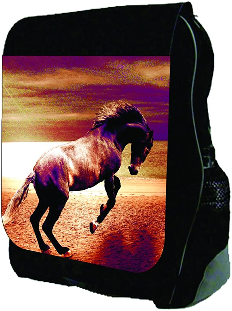 Graceful Horse TM School Backpack
