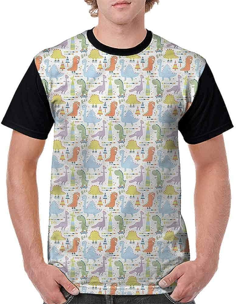 BlountDecor Performance T-Shirt,Fantasy Moon Comet Faces Fashion Personality Customization