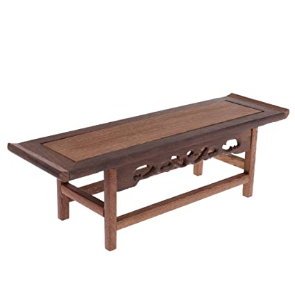 Amazon Com Magideal Retro 1 6 Miniature Wood Chinese Lute Table For