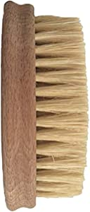 Vegetable Brush - Made from All Natural Bamboo and Palm Fibers - Scrub and Clean Carrots, Potatoes, Corn, Beets etc. (Single Pack)