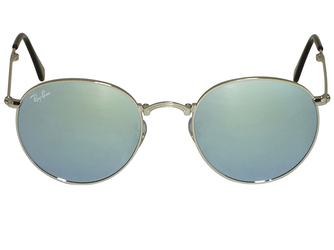 884e24e0246 Ray Ban RB3447 Round Metal 029 Matte Gunmetal 50mm  Amazon.ca  Clothing    Accessories