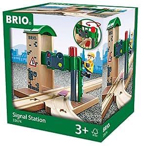 Brio - Puesto de control de agujas (33674)