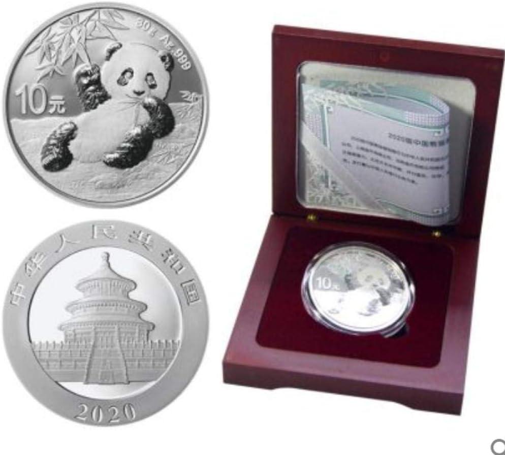 nxychunmei 3JSD2020 Moneda Conmemorativa de Panda Moneda de Plata 30g Moneda de Plata Panda Versión Completa 15 Monedas de Plata (sin Caja) 15: Amazon.es: Juguetes y juegos