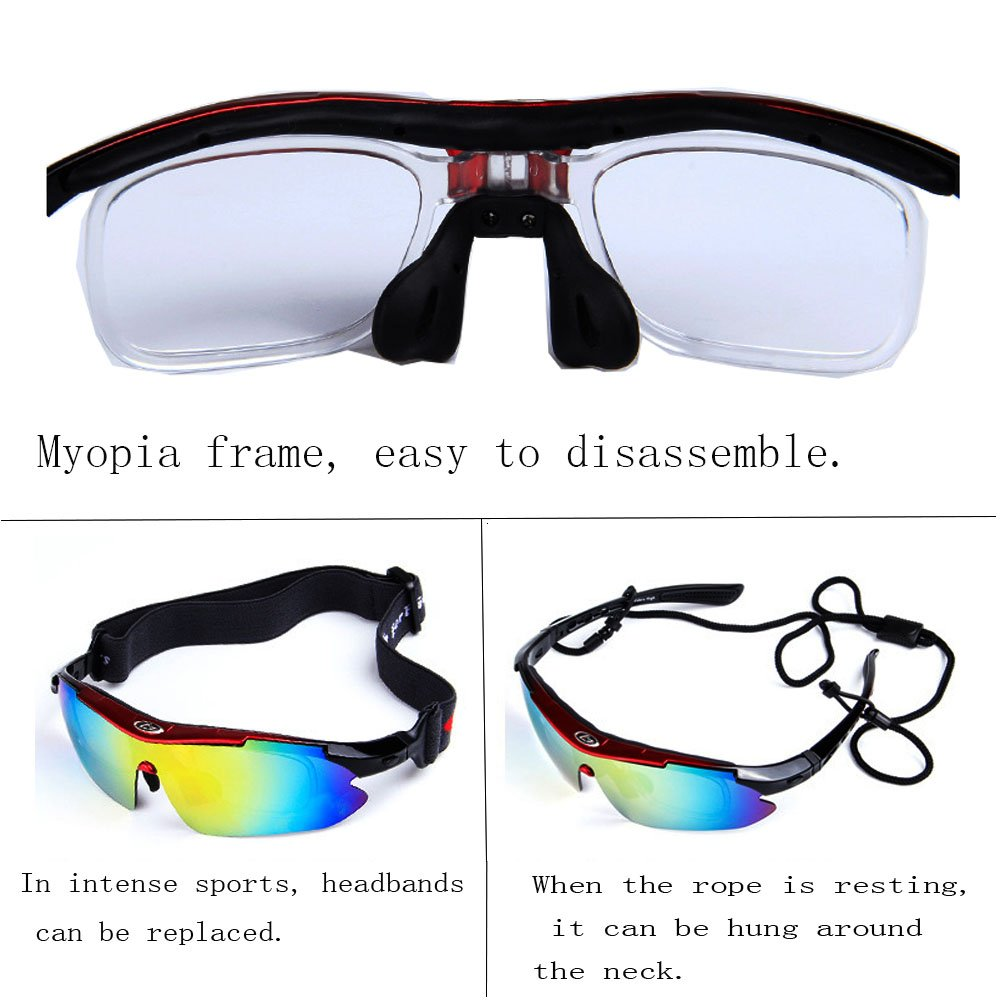 86c017b2a7c01 Amazon.com   OBAOLAY physical education Sports Cycling sunglasses Men s  Women s UV Protection Polarized Glasses Fishing Golf Baseball Men s Sports  Goggles