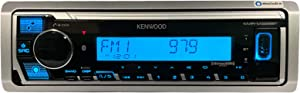 Kenwood KMR-M328BT Marine Boat Stereo Receiver, Alexa, Bluetooth, Color Lighting