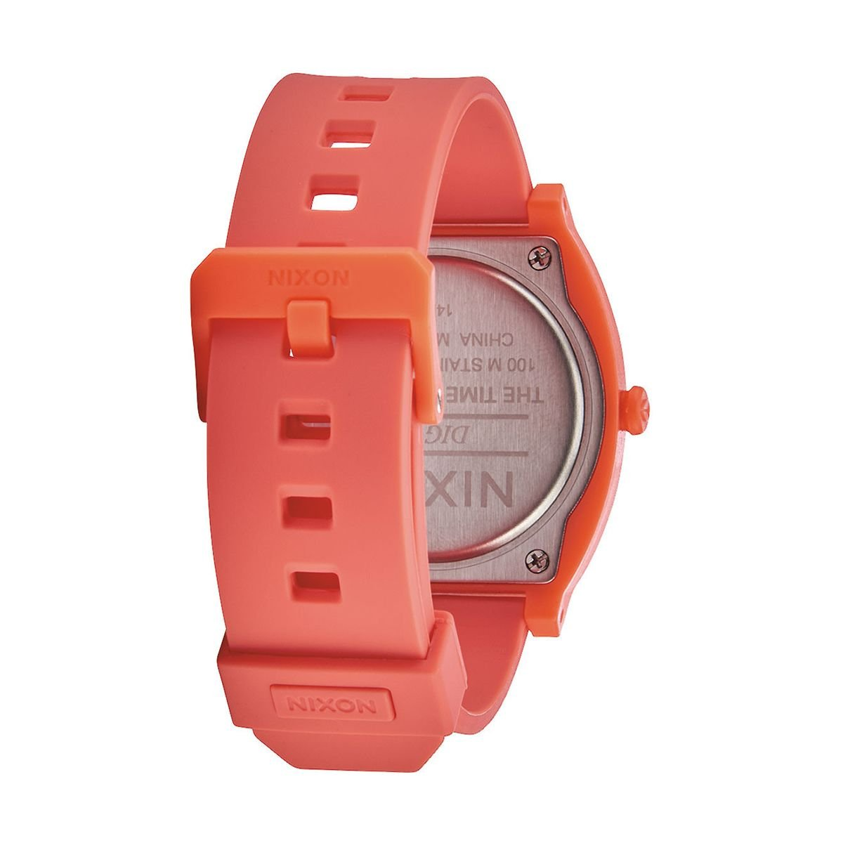 Amazon.com: Nixon Womens Time Teller Digi Watch, Bright Coral, One Size: Watches