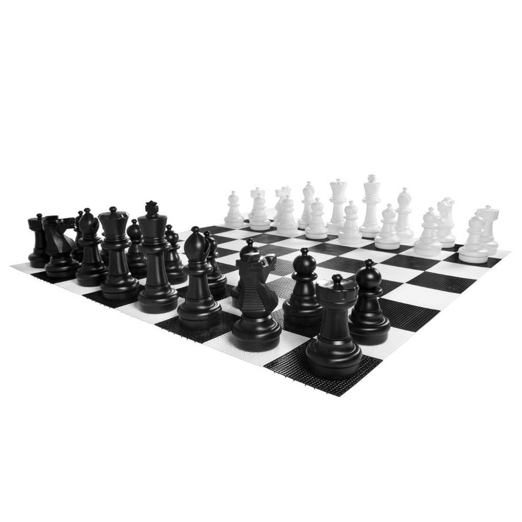 Uber Games Giant Chess Game Pieces Set - Plastic - 24 inch by Uber Games