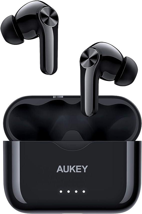 Aukey Bluetooth Kopfhörer Kabellos In Ear Mit Kräftigem Elektronik