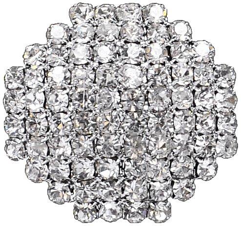 Expo Octagon Rhinestone Button (Glass Rhinestone Button)