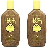 Sun Bum Original Moisturizing Sunscreen Lotion, Broad Spectrum UVA/UVB Protection, Hypoallergenic, Paraben Free, Gluten Free, 8oz, 2 Count