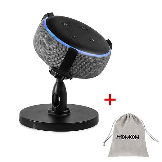 HLOMOM Soporte de Mesa para Amazon Echo Dot 3ª generación Gen ...