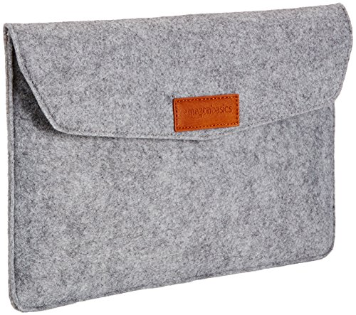 AmazonBasics 11 Inch Felt Laptop Sleeve