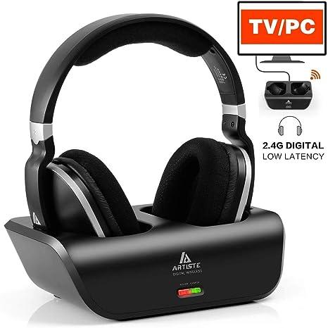 Wireless Tv Wireless Headphones 2 4 Ghz Transmission Amazon Co Uk Electronics