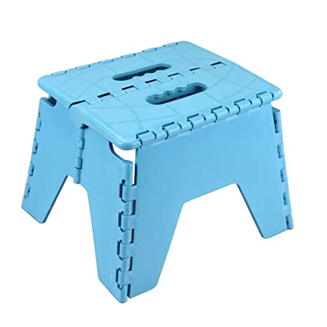 Superb Amazon Com Asab One Step Plastic Stool Portable Fold Up Creativecarmelina Interior Chair Design Creativecarmelinacom