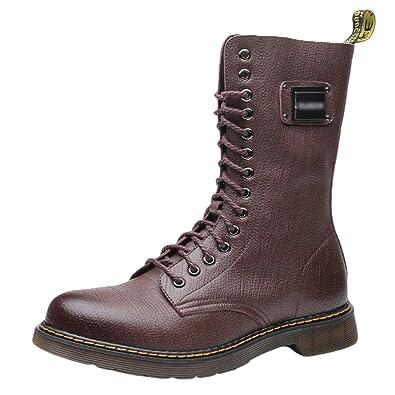 les dernières nouveautés meilleure qualité pour clair et distinctif YuanDian Homme Martin Bottes Boots Hiver Outdoor Militaire ...