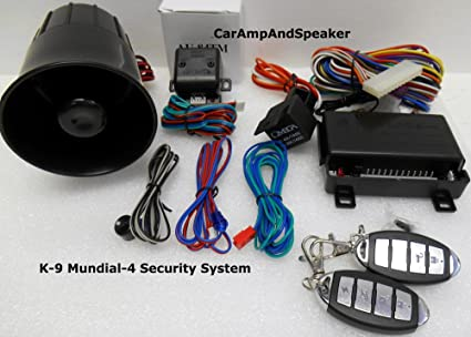 Miraculous Amazon Com Brand New Omega K9 Mundial 4 New Version Car Alarm Wiring 101 Mentrastrewellnesstrialsorg