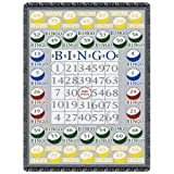 Bingo 2-Layer Throw Blanket